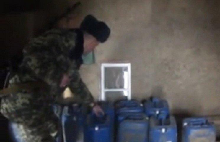 Прикордонники Одещини спільно з молдавськими колегами викрили контрабандний спирт
