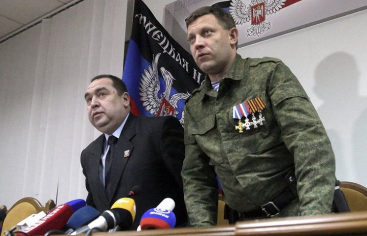 Як Плотницький і Захарченко воюють за горілку