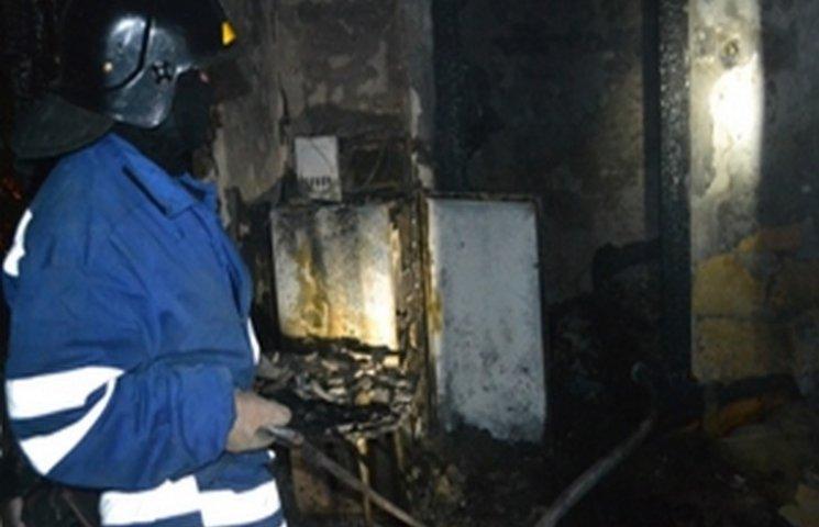 В Одесі в одному з гуртожитків сталася пожежа