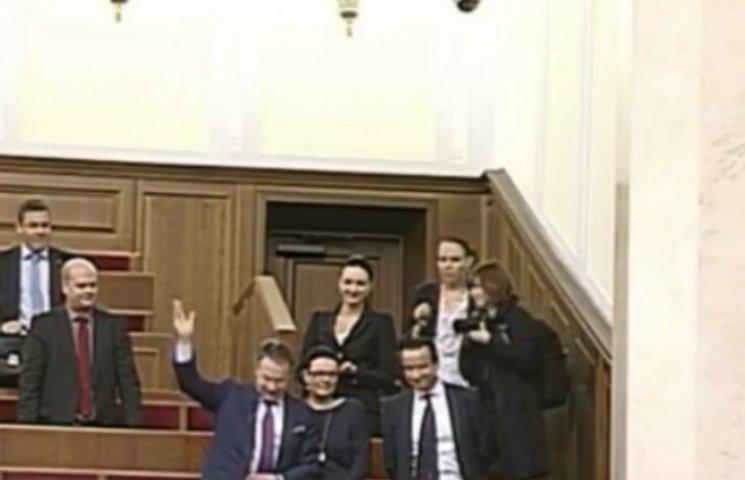 В Раду прибыл президент ПА ОБСЕ