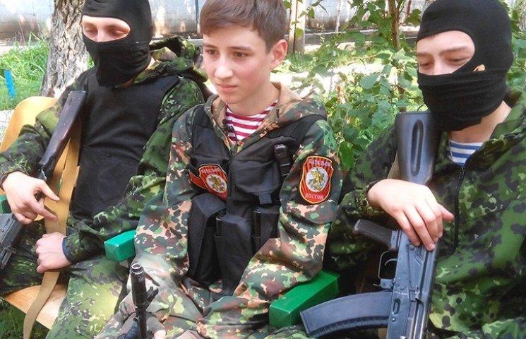 Німецькі ЗМІ знайшли табір дітей-бойовиків у Луганську: підлітки вже вбивали