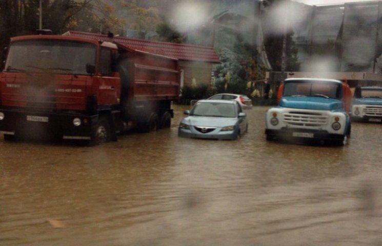 Потоп не пустив Путіна в Сочі (ВІДЕО, ФОТО)
