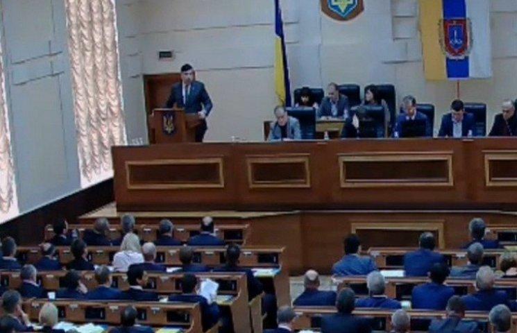 Саакашвілі готовий співпрацювати з новими депутатами облради