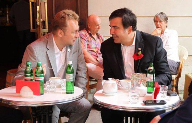 Когда Саакашвили перейдет на работу во Львовскую мэрию