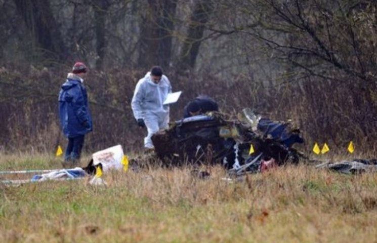 """Кількість жертв катастрофи """"закарпатського"""" вертольота в Словаччині збільшилася до восьми"""