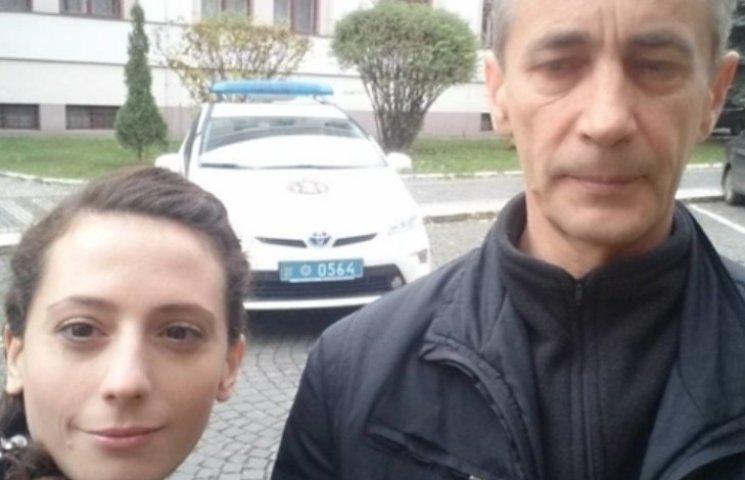 Ужгородська поліція відправила знімальну групу фіксувати порушення