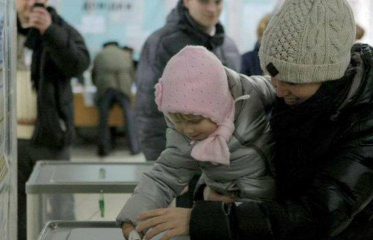 У Києві явка виборців поки становить 9%
