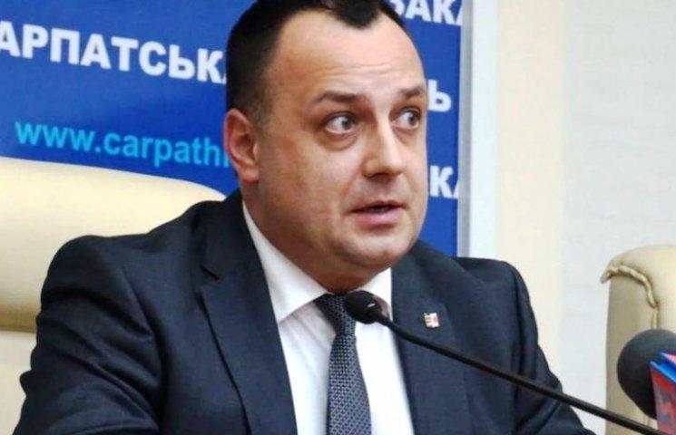 Голова Закарпатської облради похвалився досягненнями в роботі