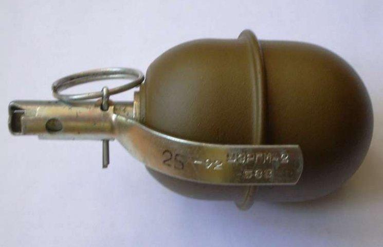 Житель Гадяча зберігав вдома гранату, привезену з зони АТО