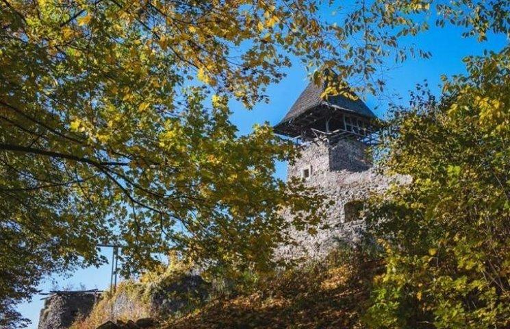 Як виглядає з висоти унікальний Невицький замок