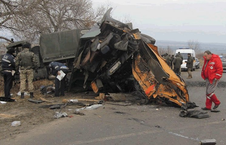 Стали відомі подробиці жахливого ДТП з військовою вантажівкою на Луганщині (ФОТО)