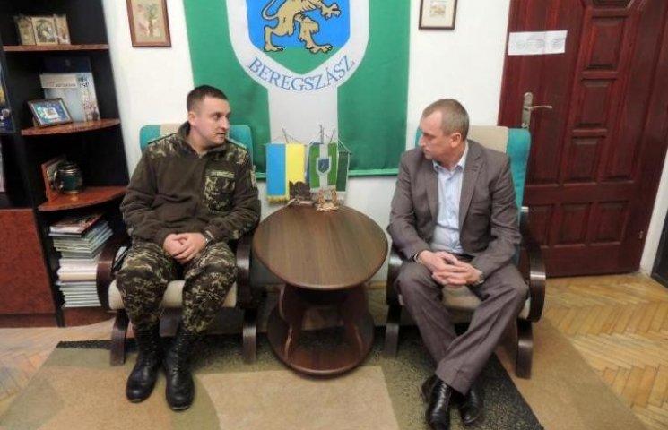 "Прикордонники закарпатської ""Лужанки"" мають нового начальника"