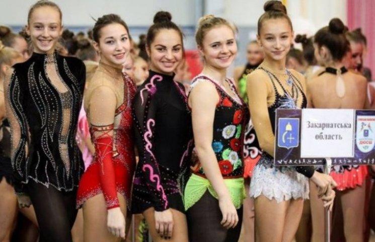 Закарпатські гімнастки повернулися з чемпіонату України
