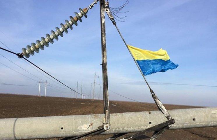 Хто підриває ЛЕП до Криму: татари, ФСБ чи Коломойський?