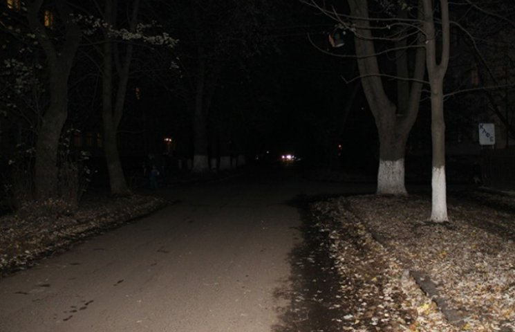 Якими вулицями Ужгорода без ліхтарика краще не ходити