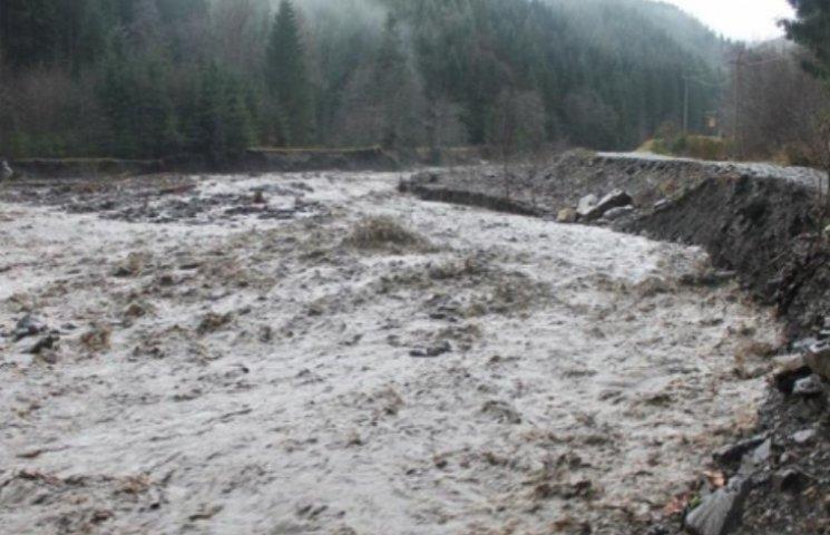 На Закарпатті оголосили штормове попередження - знову ріки