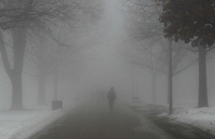 У Києві низька видимість через туман