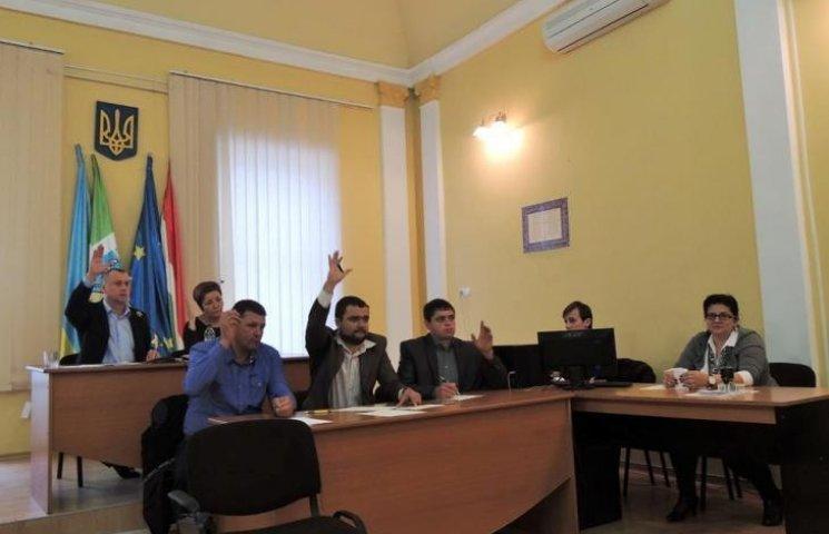 У Берегові затвердили заступників міського голови та сформували виконком
