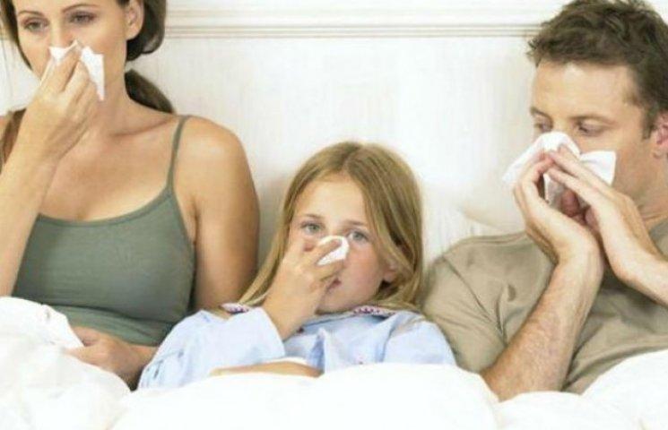 Найбільше в Україні на грип та ГРВІ хворіють жителі Київщини