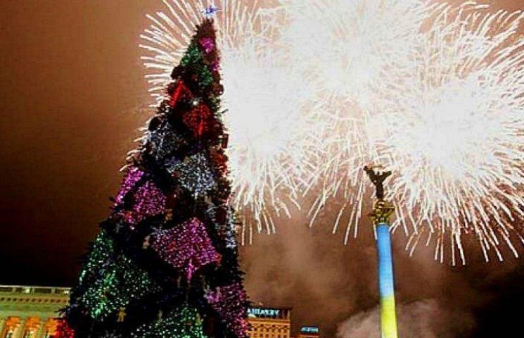 Новорічні та різдвяні свята кияни зустрінуть без феєрверків