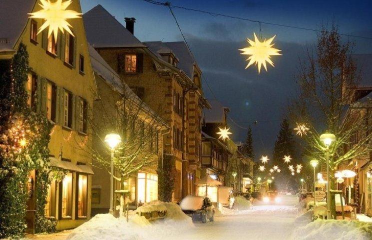 Закарпатське Берегово запрошує на різдвяний Адвент