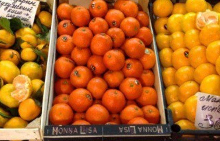 На Закарпаття завезли заражені мандарини