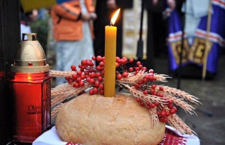 На Закарпатті вшанували пам'ять жертв голодоморів