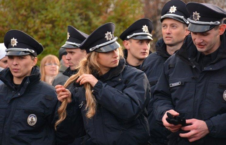 Чому розплетена коса або Нові обличчя нових поліцейських Закарпаття