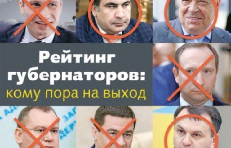 Рейтинги губернаторів: Москалю було не до економіки