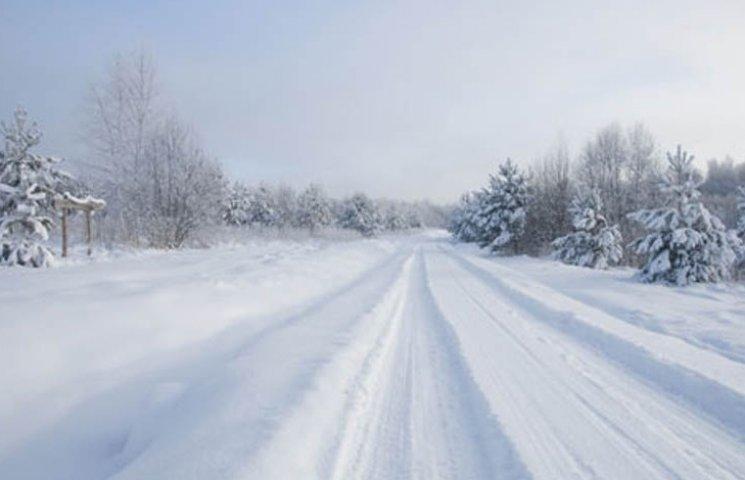 У Мелітополі випав перший сніг