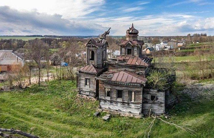 Вінницький фермер відбудовує 300-літню козацьку церкву