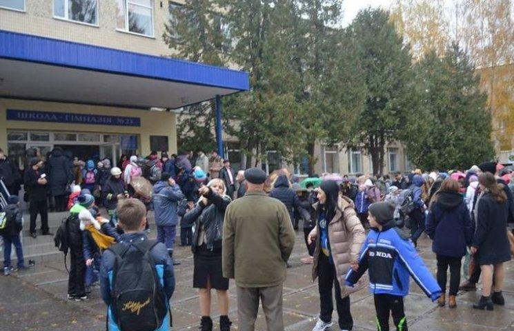 У Вінниці діти принесли у школу сльозогінний газ і зірвали уроки