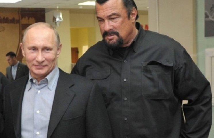 Стівен Сігал став громадянином Росії