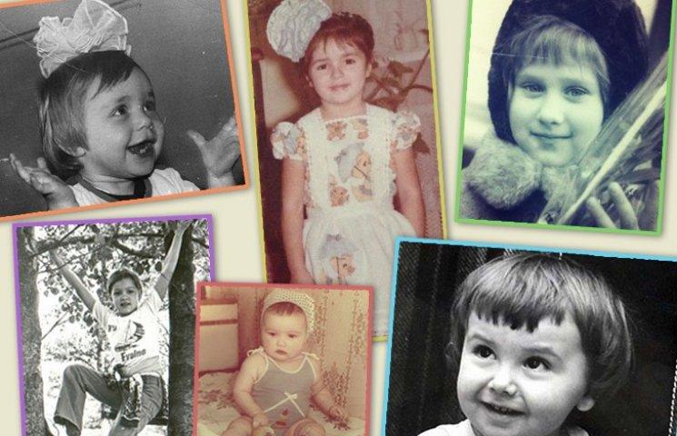 Звезды в детстве: угадай кто есть кто