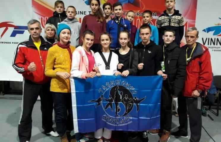 Миколаївські тхеквондисти посіли третє командне місце на Чемпіонаті України