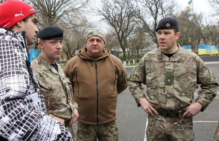 В Николаеве британские инструкторы будут обучать бойцов тактической логистике