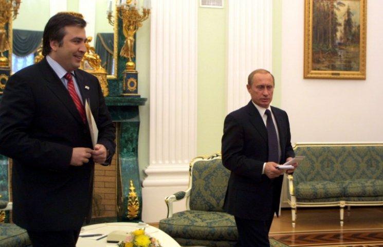 Як Путін хоче зробити з Саакашвілі свою головну надію