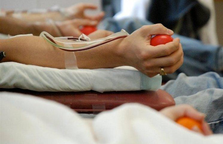 На Вінниччині поменшало донорів крові