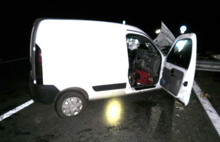 На Полтавщині водія визволяли з автівки за допомогою спецтехніки