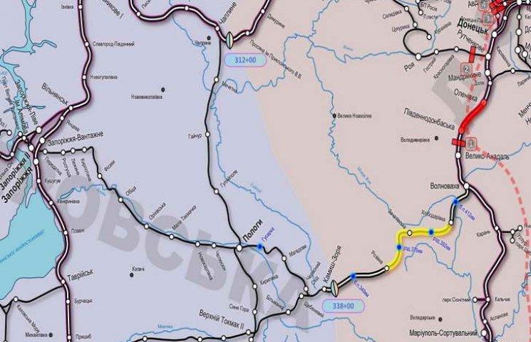 Єдиній залізничній гілці між Запоріжжям і Донбасом збільшили пропускну здатність