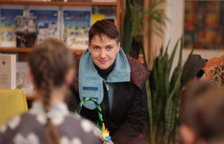 У Волочиську побували сестри Савченко – Надія та Віра