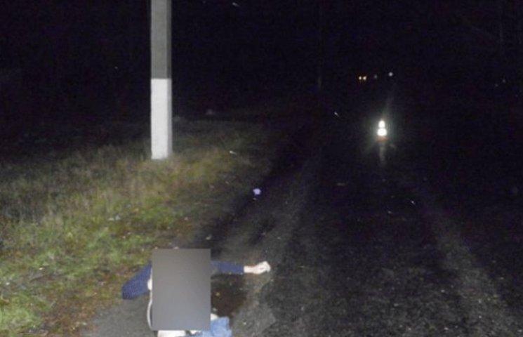 На Полтавщині водій БМВ збив людину і втік