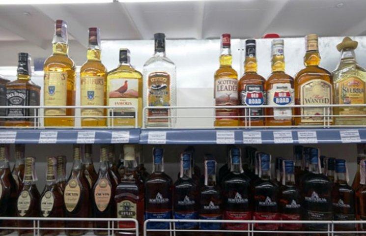 На Харківщині безробітний вкрав дорогі напої