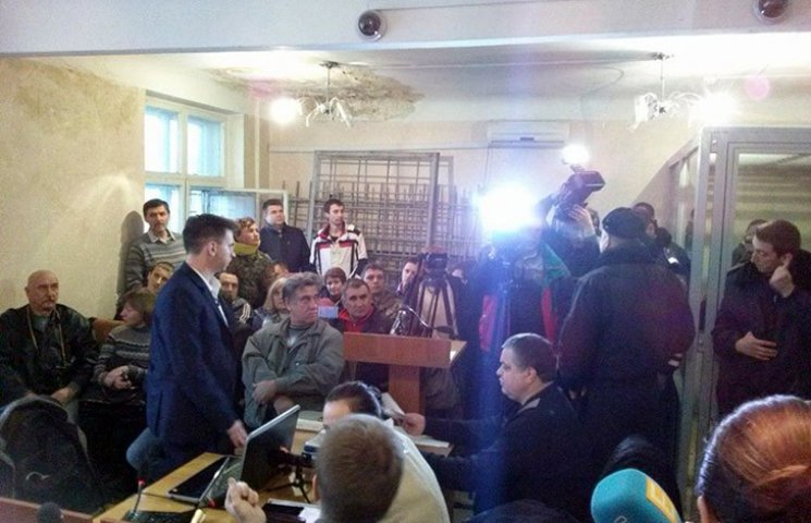 У Харкові на суд у справі про теракт прийшли активісти