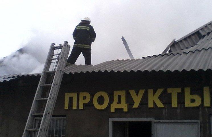 На Харківщині від несправного опалення згорів магазин