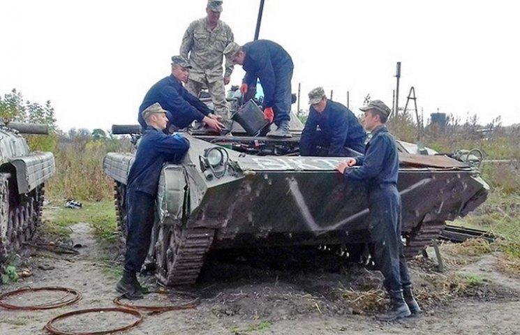 Харківські курсанти-танкісти відновили понад 100 одиниць бойової техніки