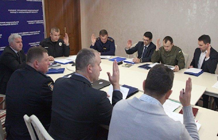 Правоохоронці Хмельниччини обрали делегатів на футбольну конференцію
