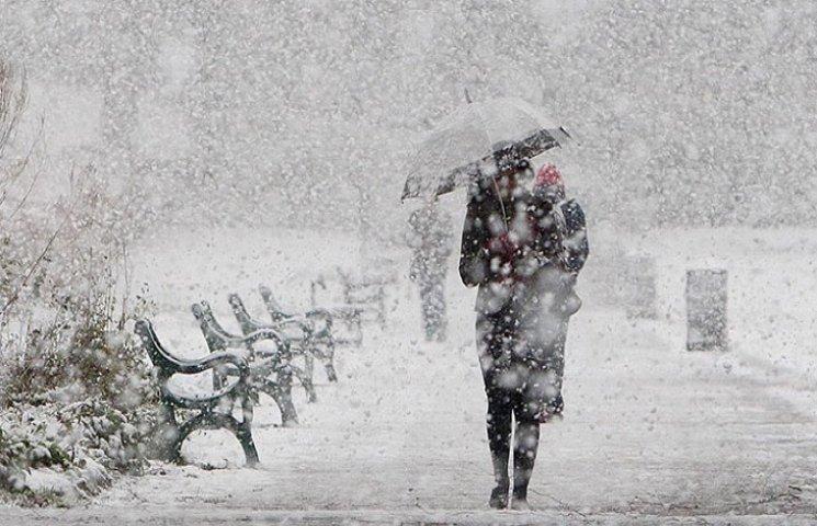 На Хмельниччині очікується до 25 сантиметрів снігу