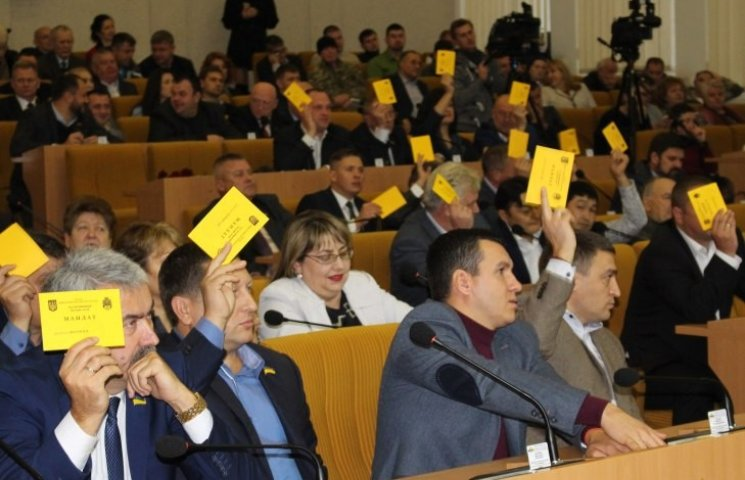 В Николаевском облсовете сменились руководители трех фракций