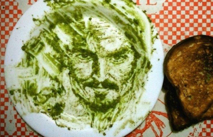 Як відомий художник картини з авокадо малює